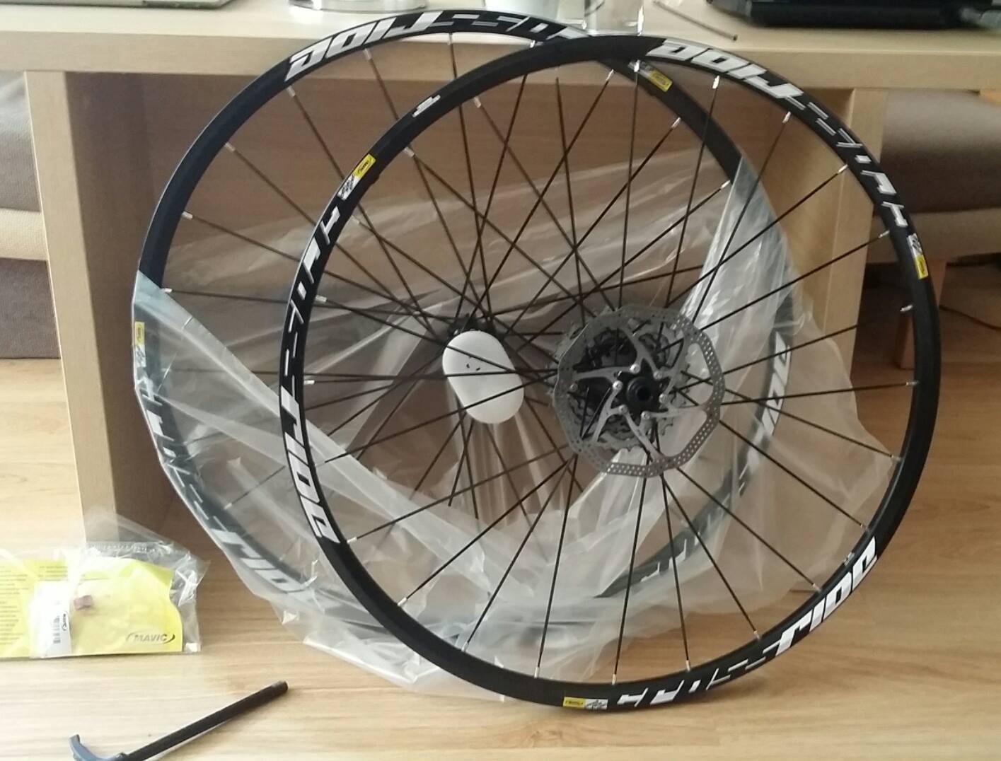 Got training wheels (Aug)